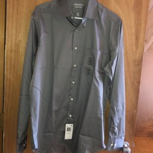 Brand new van heussen dress up shirt with tags